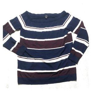 Halogen Striped Sweater